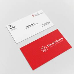 The hci group business cards
